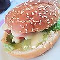 Burger du jura (comté/saucisse de morteau)