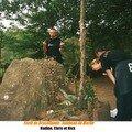 Tombeau de Merlin, forêt de Brocéliande (35)