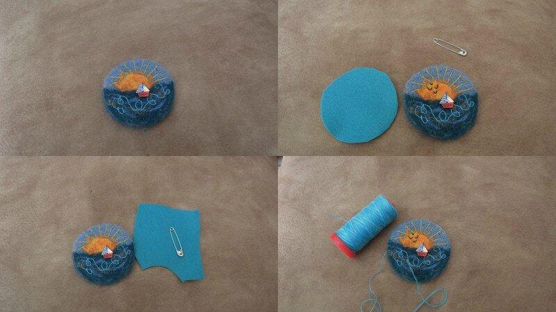tuto broche laine cardée2