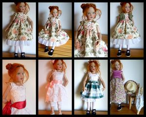 selection Piper Dolls
