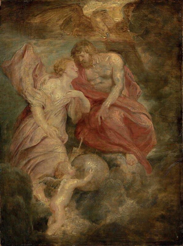 Sir Peter Paul Rubens (Siegen, Westphalia 1577-1640 Antwerp), Venus supplicating Jupiter