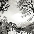 Les charmettes sous la neige