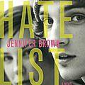 Hate list - jennifer brown (ado)