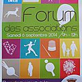Forum des associations de grossoeuvre