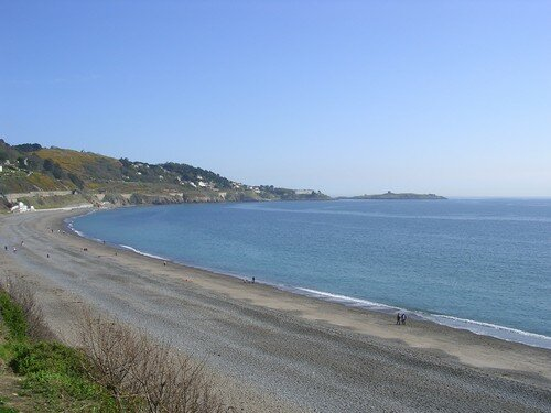 Killiney Bay, vue vers le Nord