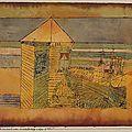Abstrait 1920_Accostage miraculeux_Klee