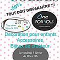 Soldes de bijoux one for you