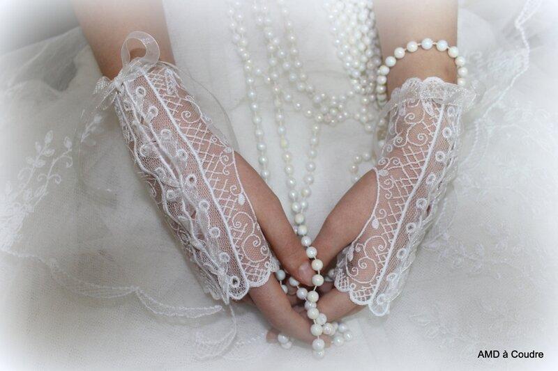 GANTS DE MARIAGE DENTELLE BLANCHE BY AMD A COUDRE (5)