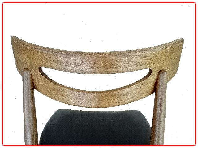 chaise samcom mobelfabrik teck 1960