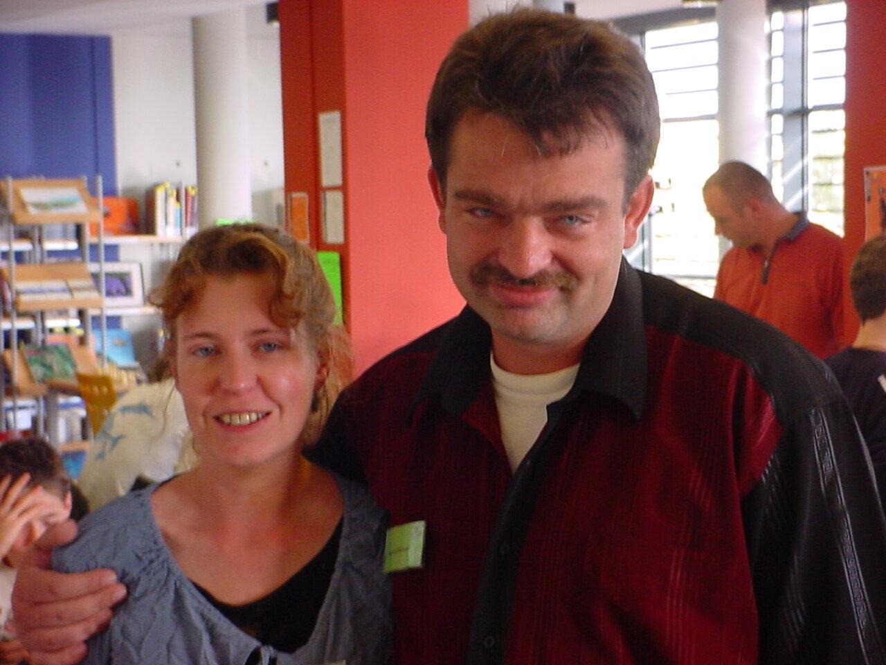 Hyeres Toussaint 2006 (25) Manuela et Andreas Schmitz