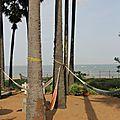 Plage d'Auroville au yoga center