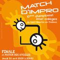 Affiche de la Finale du 30 avril 2009
