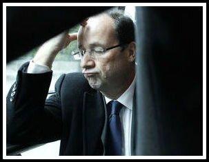 Hollande grimace 1