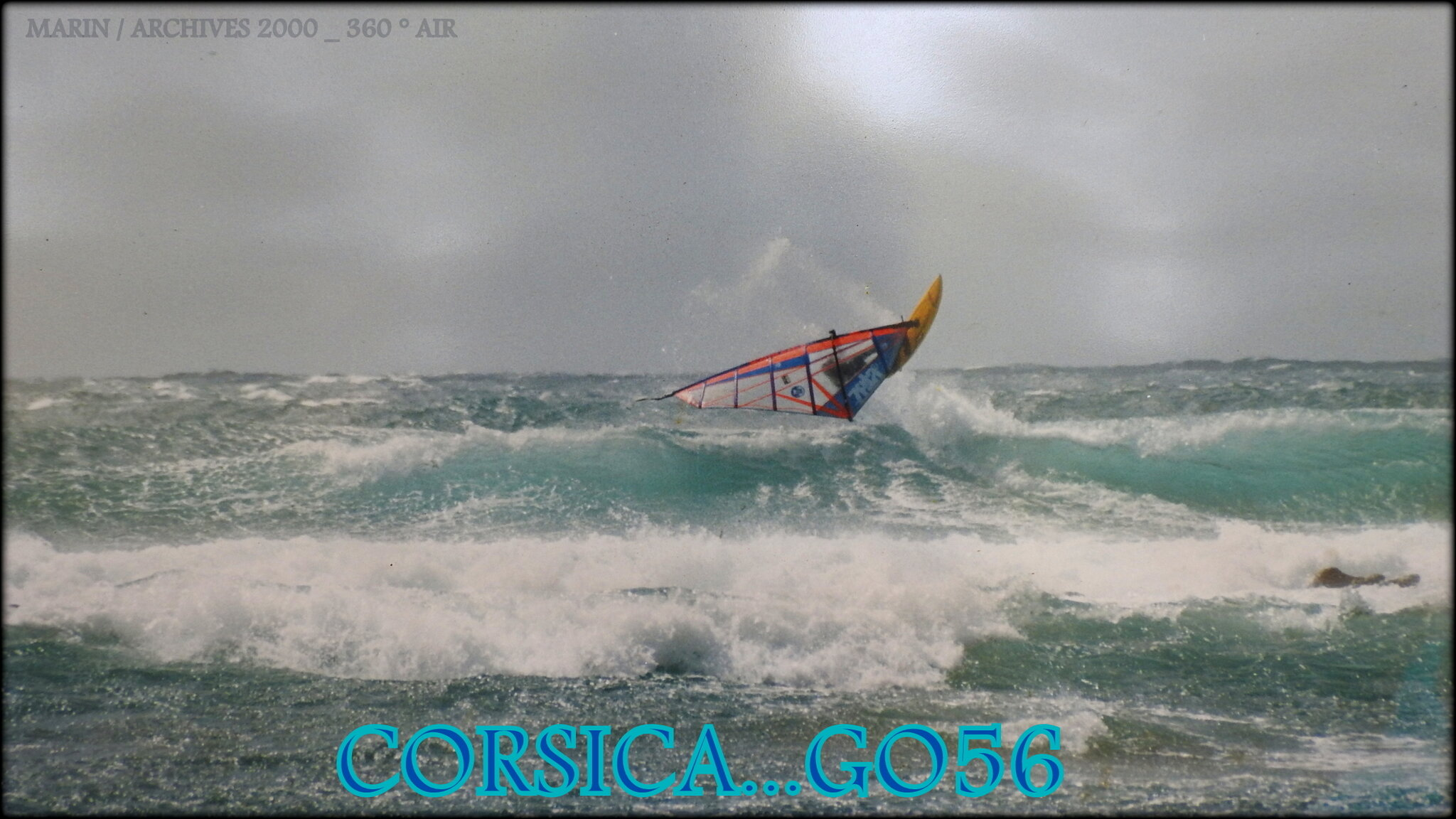 360 ° AIR WINDSURF !...