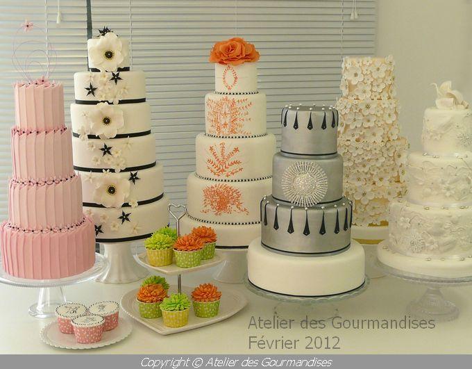 wedding cake nimes atelier des gourmandises