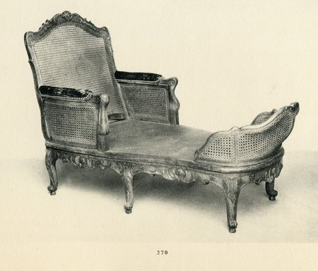 Vente doucet Paris 1912 Chaise longue