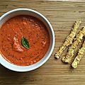 Dip de tomates et pavot