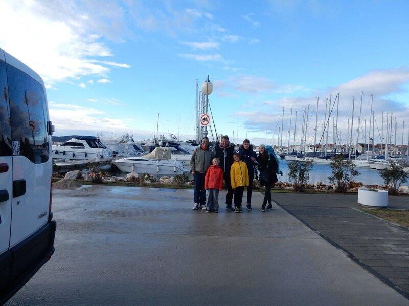 L'équipage de l'Alma 3 a fait Vodice-Dubrovnik et retour du 11 au 18 février 2017 180217 1