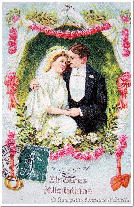 Le mariage au début du siècle (16)