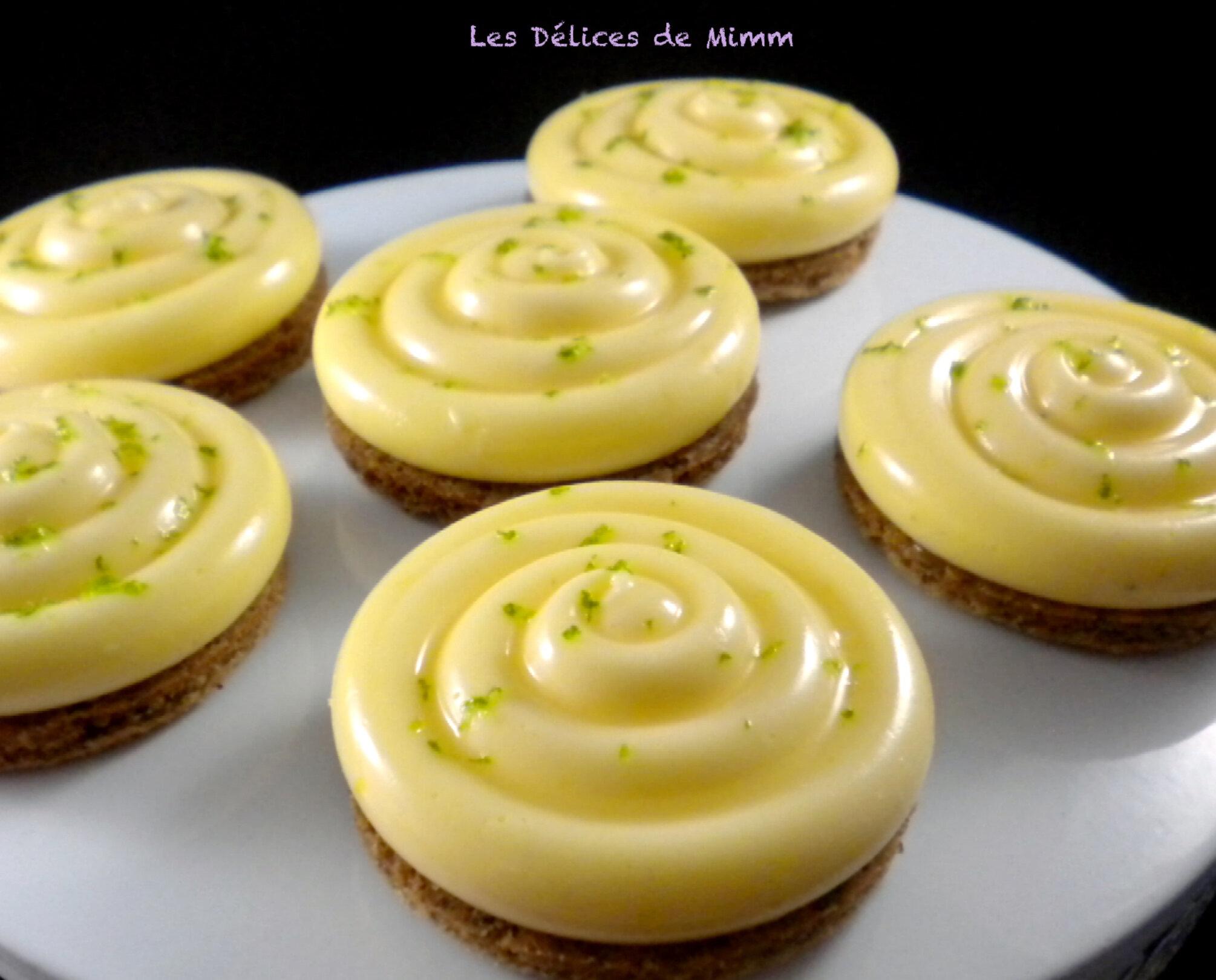 Tartelette au citron trop facile !