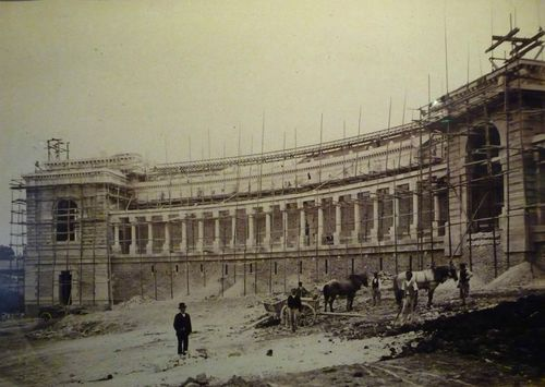 1878 Construction du Trocadéro