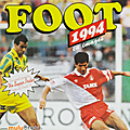 Album ... football panini foot 1994