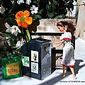 Recyclage du verre - Barbie écolo - Barbie trie son verre - Le tri - Le recyclage - Barbie doll