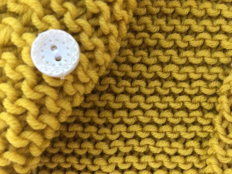 veste cache coeur 4pel point mousse phil merinos 6 absinthe phildar modele tricots intemporels pour bebes 12M 3