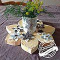 fleurs centre de table 4