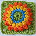 Crochet : mon carré