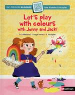 Let's play with colours with Jenny and Jack couv