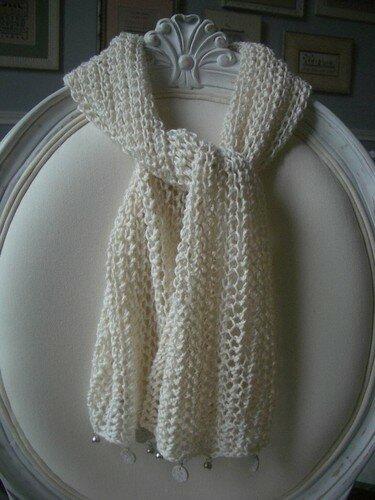 Echarpe en fil de bambou