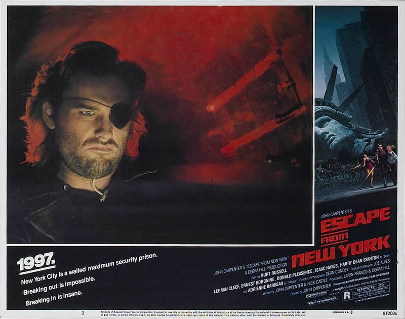 Escape from New York lobby card 8