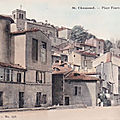 Ancienne place fourvieux, à saint-chamond