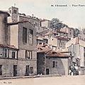 Ancienne place fourvieux, à saint-chamond
