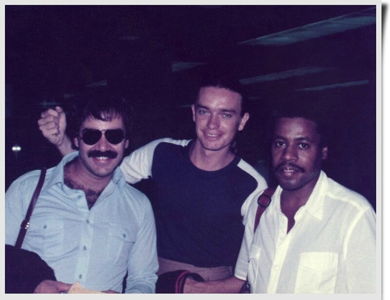 Peter Erskine, Jaco Pastorius and Wayne Shorter