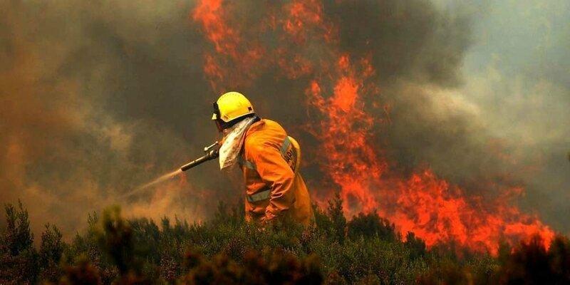 sécheresse et incendie