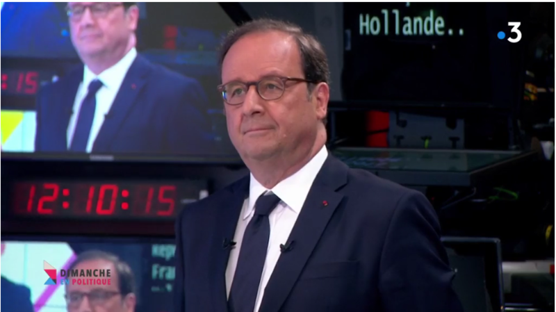 HOLLANDE MEDIA DIXIT WORLD