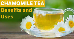 HEALTH AND WELLBEING CHAMOMILE TEA