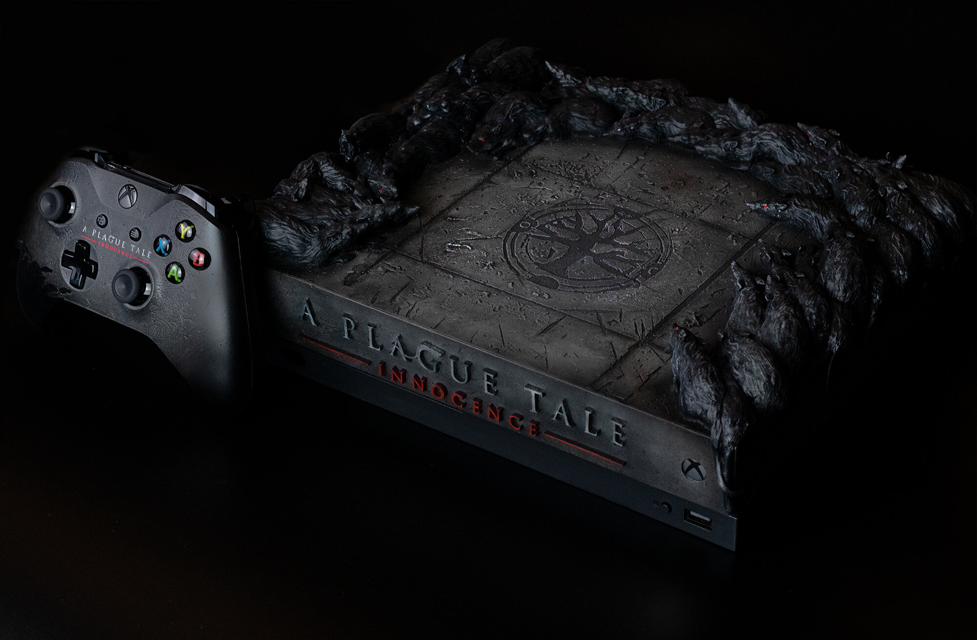 Xbox One X customized for A Plague Tale: Innocence