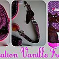 minikit naissance violet Loup: bavoir, attache-tétine, sac