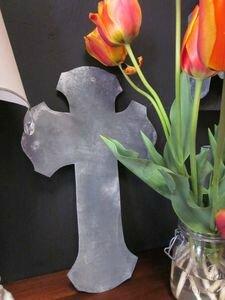 Croix de Salomé en zinc2