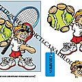 Planche 3 d tennis