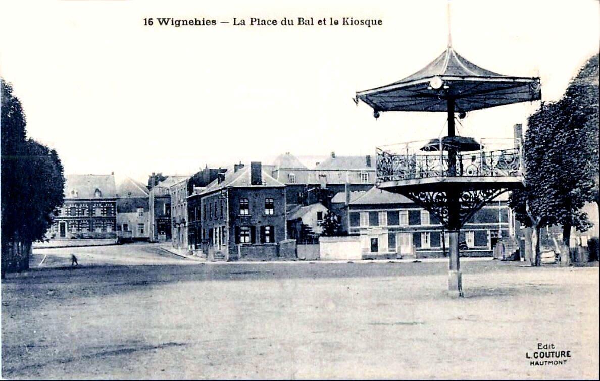 WIGNEHIES-La Place du Bal 1923