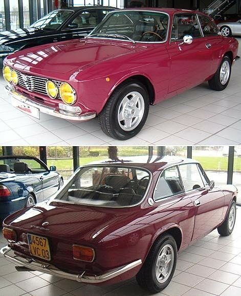 ALFA ROMEO - Giulia Coupé Junior 1600 - 1976