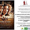 Cinéma brésilien: o tempo e o vento de jayme monjardim s'affiche à l'ambassade du brésil en france