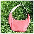 Le sac banane fraise
