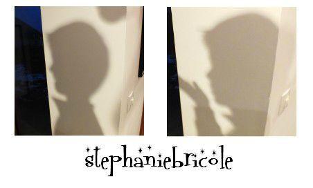 diy id e cr ative comment dessiner soi m me le profil d une personne et en faire un sticker. Black Bedroom Furniture Sets. Home Design Ideas