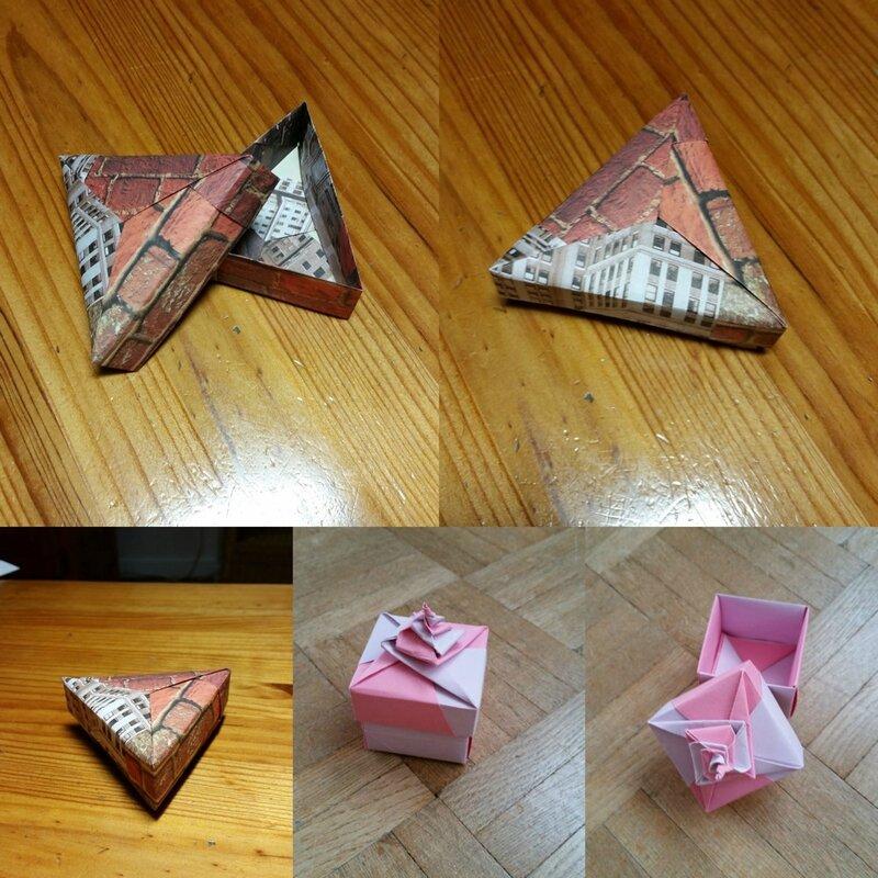 Origami boîtes 3
