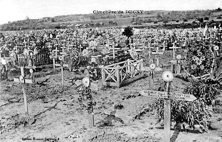 Dugny, cimetière militaire (2)